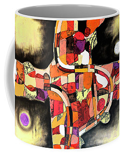 Coffee Mug featuring the painting The Reeping by Mark Jordan