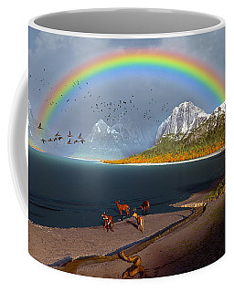 The Rings Of Eden Coffee Mug