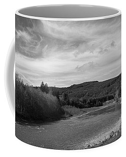 Coffee Mug featuring the photograph The River by Jeni Gray