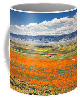 The Road Through The Poppies 2 Coffee Mug