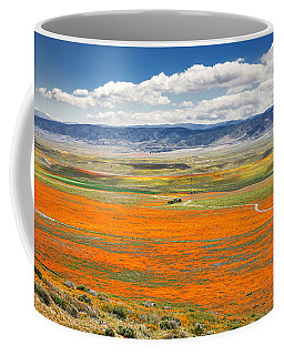 The Road Through The Poppies 2 Coffee Mug