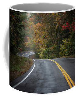 Coffee Mug featuring the photograph The Road To Friends Lake by Brad Wenskoski
