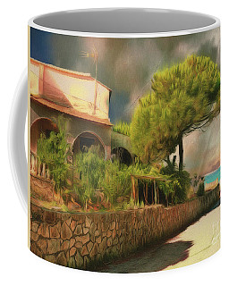 Coffee Mug featuring the photograph The Road To The Sea by Leigh Kemp