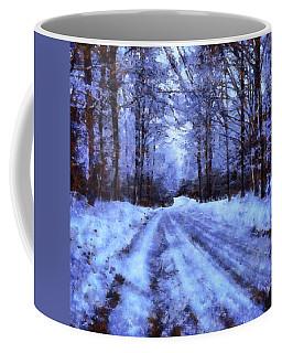The Road To Winter Coffee Mug