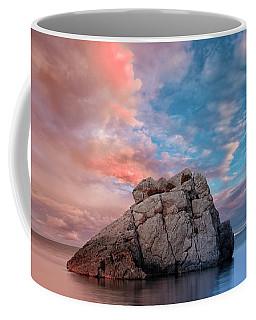 The Rock And The Sea Coffee Mug