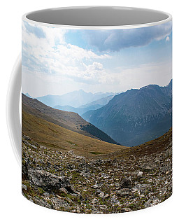 Coffee Mug featuring the photograph The Rocky Arctic by Nicole Lloyd