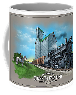 The Ross Elevator Sentinel Of The Plains Coffee Mug