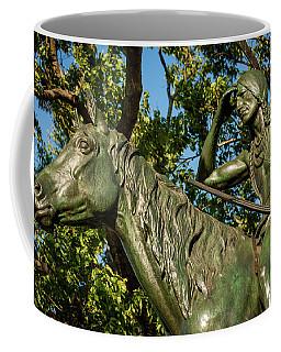 The Scout Statue II Coffee Mug
