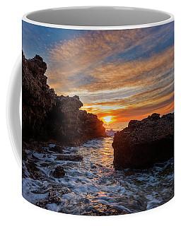 The Sea In Oropesa At Sunrise On The Orange Blossom Coast Coffee Mug