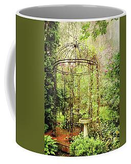Coffee Mug featuring the digital art The Secret Garden by Trina Ansel