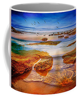 The Silent Morning Tide Coffee Mug