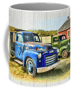 Coffee Mug featuring the photograph The Strong Silent Types by Ola Allen