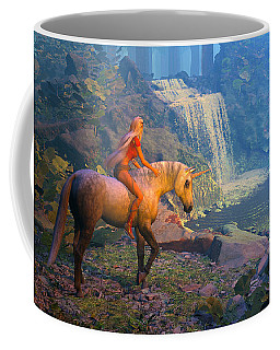 The Silver Horn Coffee Mug