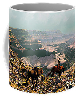 The Sinking Earth Coffee Mug