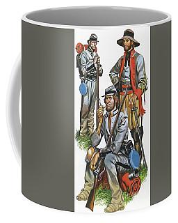 The Southern Army In The American Civil War Coffee Mug