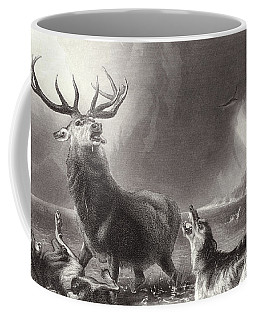 The Stag At Bay Coffee Mug
