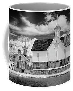 The Star Barn In Infrared Coffee Mug
