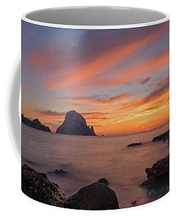 The Sunset On The Island Of Es Vedra, Ibiza Coffee Mug