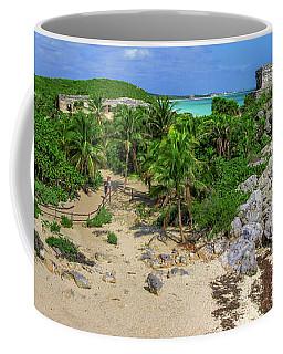 The Temple By The Sea Coffee Mug