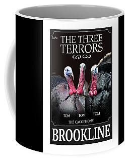 The Three Terrors Coffee Mug