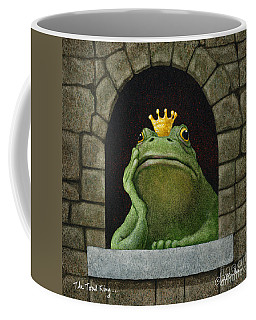 The Toad King Coffee Mug