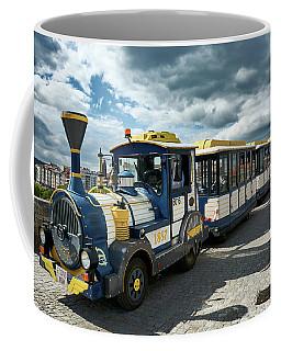 The Touristic Train Of Ourense Coffee Mug