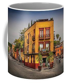 The Triangle Corner Coffee Mug