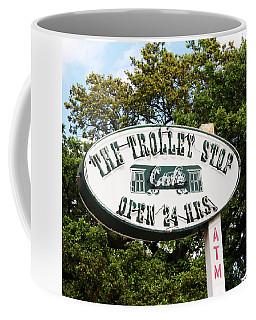 The Trolley Stop Cafe Coffee Mug