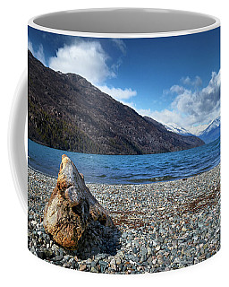 The Puelo Lake In The Argentine Patagonia Coffee Mug