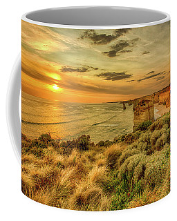 Coffee Mug featuring the photograph The Twelve Apostles by Chris Cousins