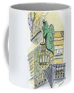 The Umbrella Building Coffee Mug
