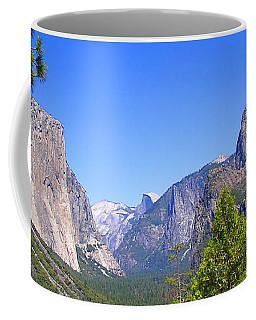 The Valley Of Inspiration-yosemite Coffee Mug