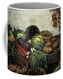 The Vegetable Stall, 1884 Coffee Mug