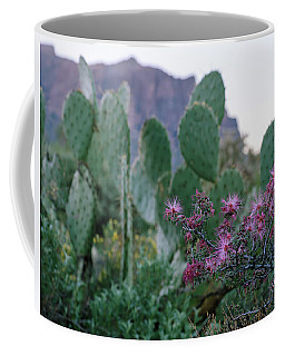The Vibrant Desert Coffee Mug