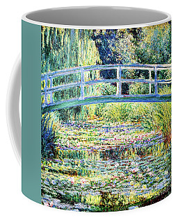 The Water Lily Pond By Monet Coffee Mug