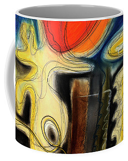 Coffee Mug featuring the pastel The Whirler by Mark Jordan