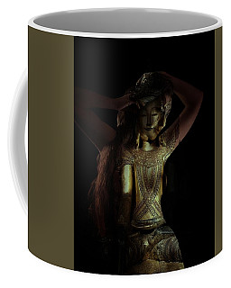 Coffee Mug featuring the photograph The Woman Beneath by Marianna Mills