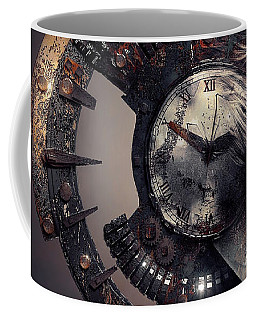 Coffee Mug featuring the digital art The Woman That Time Forgot by ISAW Company