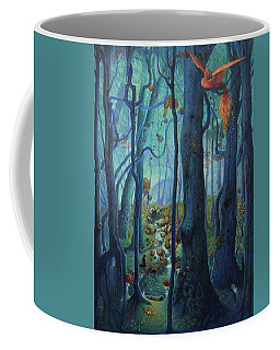 The World Between The Trees Coffee Mug