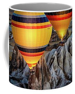 The Yellow Balloons Coffee Mug