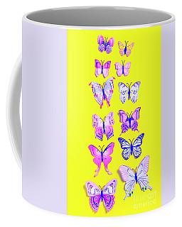 The Yellow Bug Road Coffee Mug