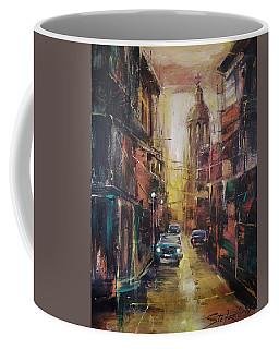 The Yellow Street Coffee Mug
