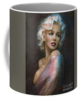 Theo's Marilyn Ww Blue Coffee Mug