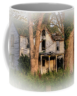 Coffee Mug featuring the photograph These Old Houses  by Ola Allen