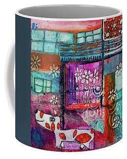 Thinking Happy Thoughts Coffee Mug