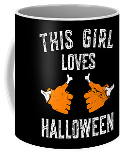 This Girl Loves Halloween Coffee Mug