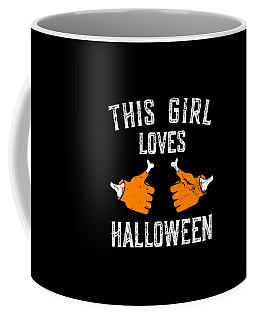 This Girl Loves Halloween Coffee Mug