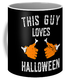 This Guy Loves Halloween Coffee Mug
