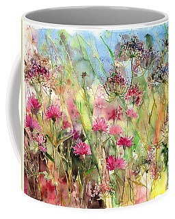 Thistles Impression II Coffee Mug