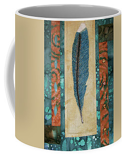 Threaded Feather Coffee Mug